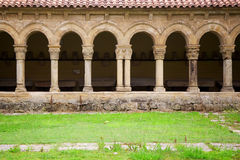 Cloître dans Santillana Del Mar, Espagne Images stock