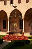 Cloître de Basilic de San Antonio de Padoue Ital images libres de droits