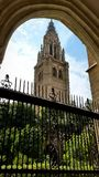 Cloître de la cathédrale de Toledo Photos libres de droits