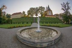 Cloître de Neuzelle, Allemagne photo stock