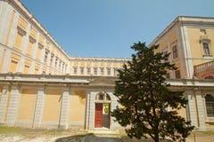Cloître de palais national - Mafra (Portugal) Photos libres de droits