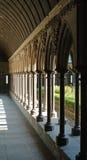 Cloître de Saint Michel de Mont Images stock