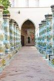 Cloître de Santa Chiara Image stock