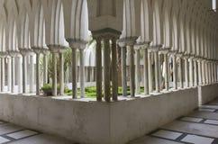 Cloître du paradis, Amalfi Photos libres de droits