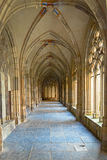 Cloître médiéval du Pandhof à Utrecht, Pays-Bas photo libre de droits