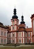 Cloître Marianska Tynice - République Tchèque Photos libres de droits