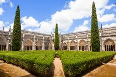 Cloître royal de monastère de Batalha Photo libre de droits