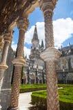 Cloître royal de monastère de Batalha image libre de droits