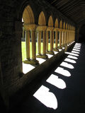 Cloîtres d'abbaye d'Iona Image stock