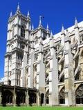 Cloîtres d'Abbaye de Westminster Images libres de droits