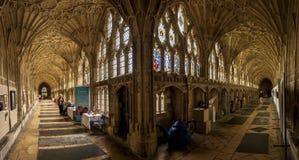 Cloîtres de Gloucester Photos stock