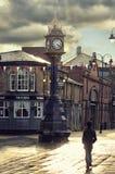 Cloack в центре города стоковые изображения rf