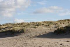 cloaded небо голландеца дюн Стоковые Изображения RF