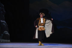"""Cloak and tiger vest-Peking Opera """"Taking Tiger Montain By Strategy"""" Royalty Free Stock Photo"""