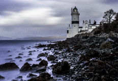 Cloch-lighthose Schottland Stockfoto
