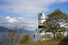 Cloch Lighthouse Royalty Free Stock Image