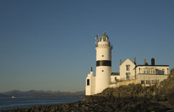 Cloch Lighthouse Royalty Free Stock Images