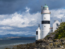 The Cloch lighthouse Royalty Free Stock Photography