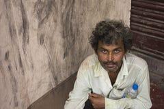 Clochard indien Image libre de droits