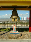 Cloche bouddhiste Photos stock