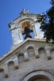 Cloche d'église, Majorca Photos stock