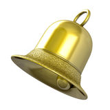 Cloche d'or Photographie stock