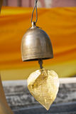 Cloche d'or Image stock