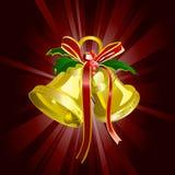 Cloche de Noël illustration libre de droits
