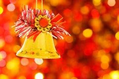 Cloche de Noël Images libres de droits