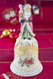 Cloche de Noël Image libre de droits