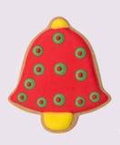 Cloche de Noël de Gingerbreard Image libre de droits