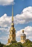 Cloche de Peter et de Paul Cathedral Photos stock