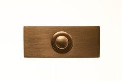 Cloche de porte rectangulaire Images stock