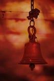 Cloche de temple Image libre de droits