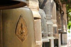 Cloche de temple Photographie stock