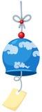 Cloche de vent japonaise Photo libre de droits