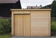 Cloche en bois Photo stock
