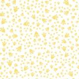 Cloche pattern-01 d'or Photographie stock libre de droits