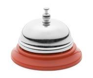 Cloche rouge de service Image stock