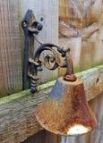 Cloche rouillée rustique Images libres de droits