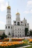 Cloche-tour d'Ivan le grand dans Kremlin Image stock
