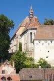 Clocher d'église de Sighisoara images stock