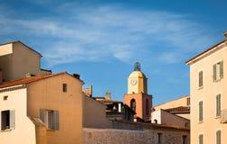Clocher DE Heilige Tropez. stock fotografie