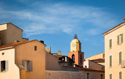 Clocher de Saint Tropez. Stockfotografie