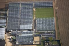 Cloches from the Air Royalty Free Stock Image