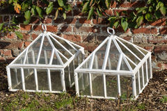 Cloches blancs Photos libres de droits