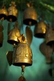 Cloches bouddhistes Photo libre de droits
