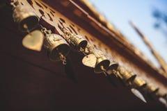 Cloches bouddhistes de prière Photos libres de droits