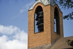 Cloches d'église image libre de droits