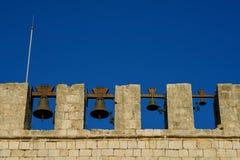 Cloches d'église Photos libres de droits
